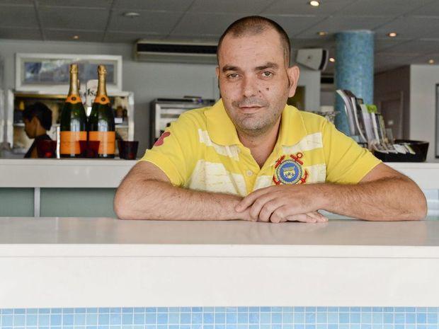 Nick Vasilaras, at Cafe Fresh Lounge Bar, passed away this week.