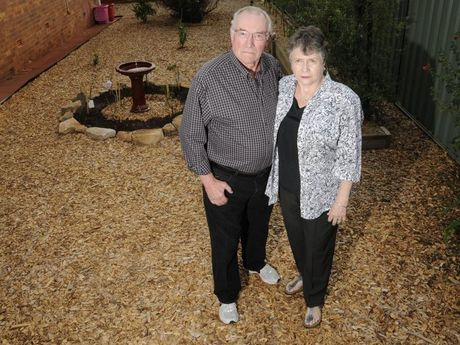 Retired couple, Gary and Jeannette Zeller, have been ripped off by a local gardener.