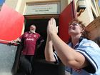 Maryborough pastor Chris Foley is in for an Origin blue