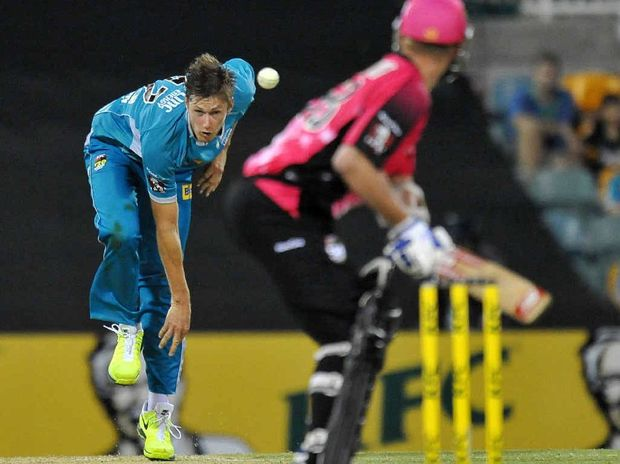 MAIN MAN: Cameron Gannon has re-signed with the Brisbane Heat for the coming Summer's Big Bash League.