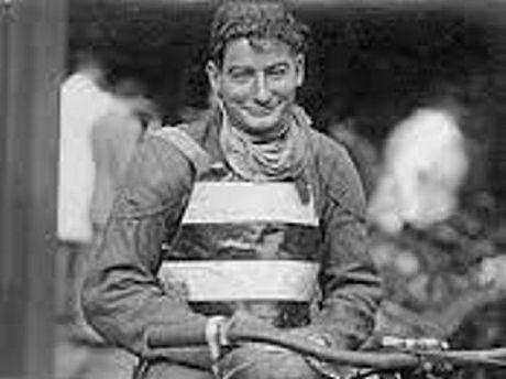 Speedway legend Dicky Case.