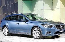 HARD TO FAULT: The Mazda6 diesel wagon is a pleasure to steer.