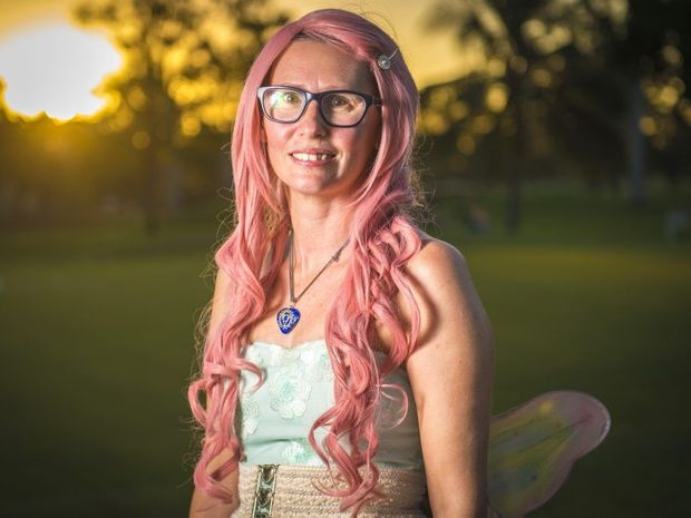 HELPING OTHERS: Fundraising hero Alana McMullen, known as Pink Tink, has been nominated for Australian of the Year for her efforts in helping people with terminal illness fulfill their wishes.