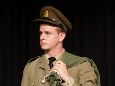 Dane Strudwick plays Conrad Birdie in Ballina Players' new production of Bye Bye Birdie.