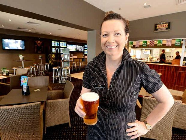 WATERING HOLE: The CBD Tavern manager Nikki Watts looks forward to the official launch at the refurbished pub on Bell St.