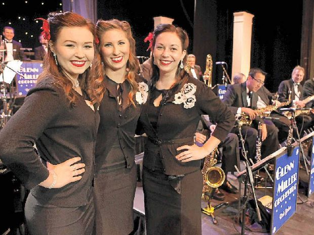 OLD-WORLD GLAMOUR: The Swing Kittens will sing with the Glenn Miller Orchestra when they visit Lismore in July.
