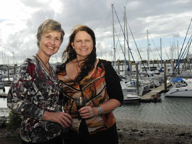 TRUE LOCALS: Good friends Carolyn Simpson and Jenny Yates reflect on the changes in Gladstone over the years.