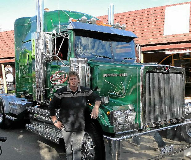 Wayne Hebbard drives a Western Star.