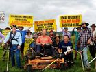 "Stoner labels anti-CSG protesters ""professional bludgers"""