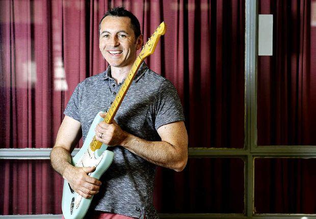 JAZZ MAN: British guitarist Jasper Smith has opened a new guitar school in Brisbane St.
