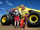 Monster truck ride a thrill for haemophilia sufferer Connor