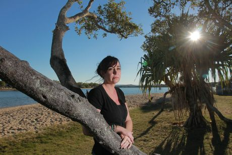Kelly Dodd, sister of of missing Sunshine Coast woman, Jessica Gaudie. Photo: Brett Wortman