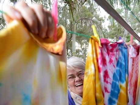 COLOUR FESTIVAL: Knot Fibre Festival organiser Dorothy Walsh.