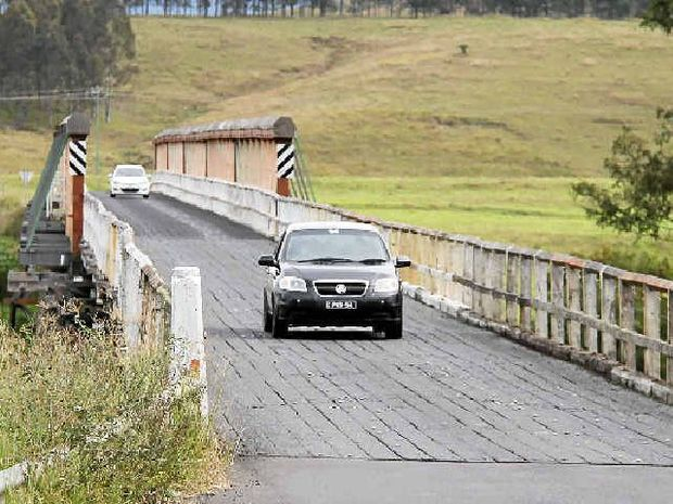 HISTORIC: Tabulam locals approve of the proposed new route for a bridge over the Clarence River but want the old bridge preserved as a piece of the towns history.