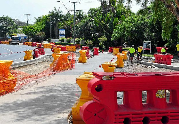 PRIORITY: About $8 million for roadworks has been set aside in the Noosa Council budget.