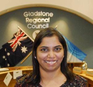 NEW AUSTRALIAN: Sudha Chilukuri at her citizenship ceremony.