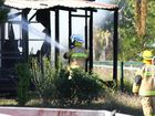 Teen girl suffers extensive burns in house fire