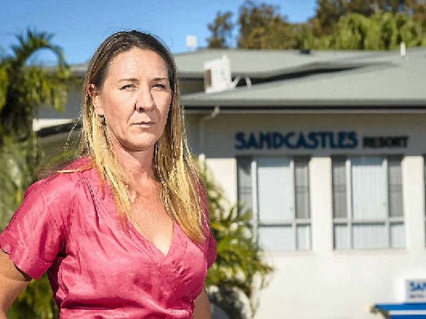 Former owner of Kahunas Bernadette Kerr alleges Sandcastles resort stole her business' equipment.