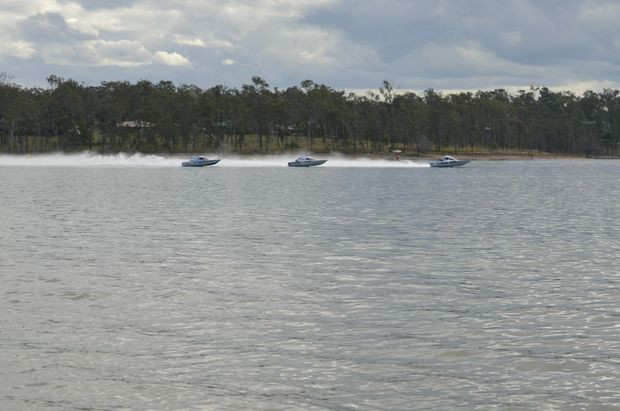 Water activities are not permitted on Lake Dyer (shown) and Atkinson Dam until further notice