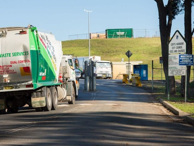 The Coffs Harbour Waste Facilty at Englands Rd. Photo: Trevor Veale / Coffs Coast Advocate