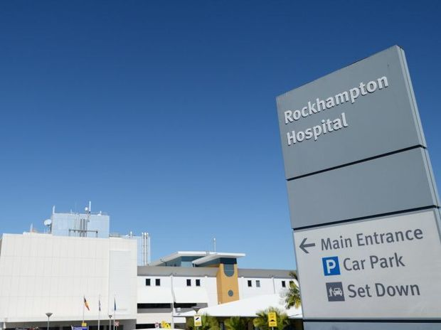 Rockhampton Hospital. Photo: Chris Ison / The Morning Bulletin