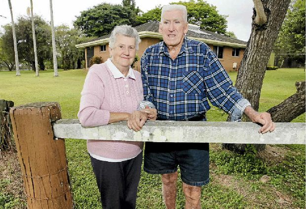 PLANS DASHED: Beth and Les Lamberton are concerned about being able to retire.