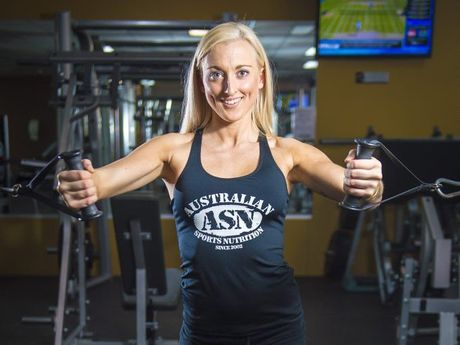 Whitney-Rae Freyling is preparing to compete at the INBA Natural Olympia in San Diego.