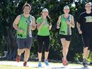 THE hills are calling and Ipswich runners are lacing up their shoes ready to take on the city's premier fun run the Park2Park again next month.