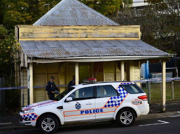 BONES FOUND: An Ipswich property owner discovered bones beneath the floor boards of an old house on Brisbane Street in the Top of Town.