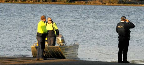 POLICE SEARCH: Emergency services look for a 73-year-old man feared drowned at Cooby Dam.