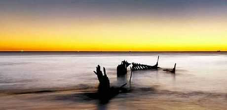 Even the wrecks are special as Nicola Brander's photo shows.