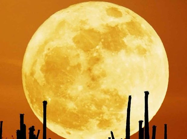 SKY SHOW: A supermoon can appear as much as 14% larger in the sky and 20% brighter.