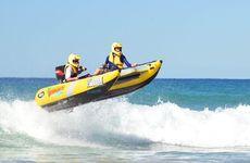 Thundercat surf crew: Paul Collins and Cameron. Photo: Patrick Woods / Sunshine Coast Daily