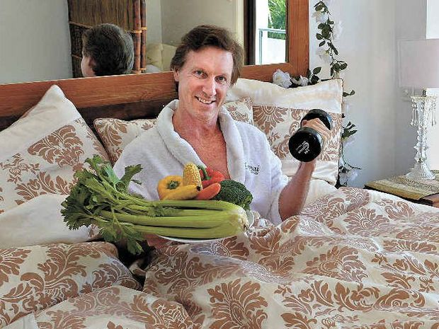 BED'n'VEGIES: Dr John McIntosh says there are some terrific advantages to having a healthy diet and vigorous exercise.