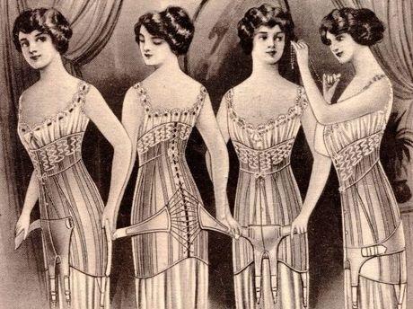 Sarah Jenyns corset advert Photo: Contributed