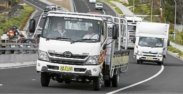 ROAD TEST: Big Rigs editor Carly Morrissey gives the Hino high horsepower 300 a run.