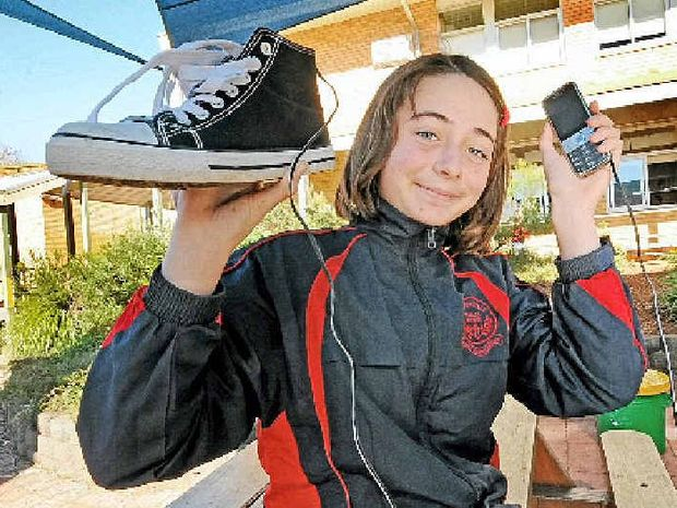 INVENTIVE SPIRIT: Alstonville Public School Year 6 student Kairo Byrne, 11, has entered the Origin LittleBIGidea competition.