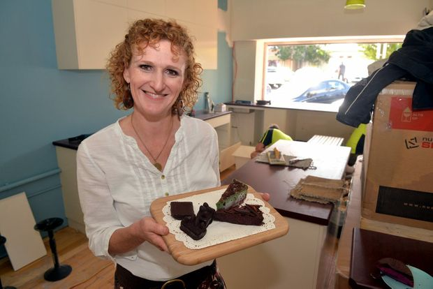 NEW HEALTH RESTAURANT: Judy Plath is excited for the opening of her new business Nourish'. Photo: Zach Hogg / NewsMail
