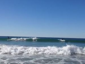 Easy day of surfing at Noosa