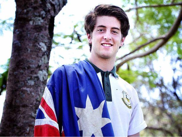NEW HONOUR: Jay Kapodistrias, year 11 student at Kyogle High School