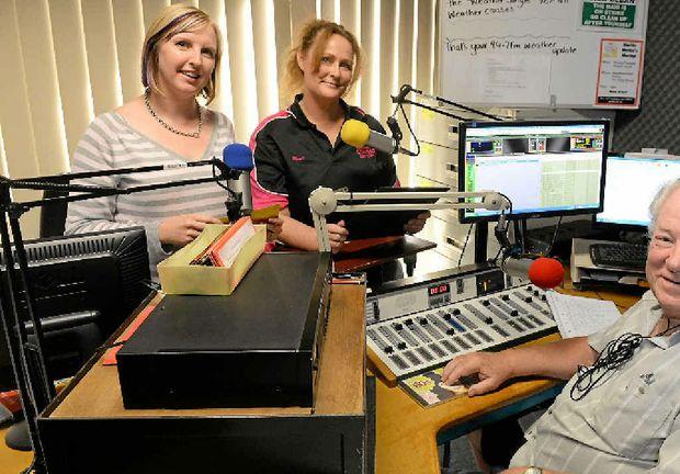 LOCAL RADIO: Community Radio 94.7 board member and presenter Heidi Stanton-Cook, Secretary Karen Venus and presenter Grahame Watt.