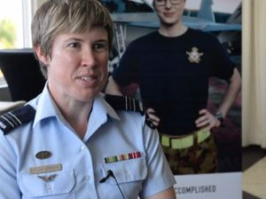 Women from the ADF encourage others to join