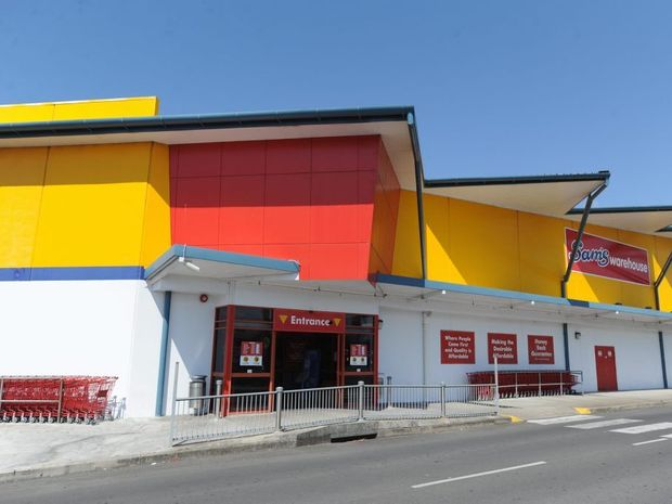 Sam's Warehouse stores, including the one at Pialba, will be reviewed on a weekly basis.