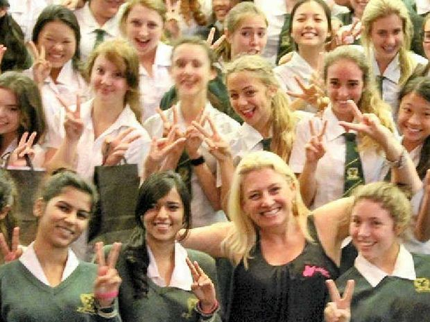 CHICKS RULE: Teenage expert Dannielle Miller will hold a seminar for parents at Xavier Catholic College later this month.