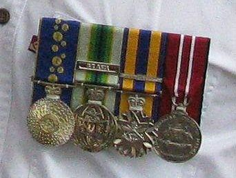 These medals were stolen from a Yamanto residence on Thursday.