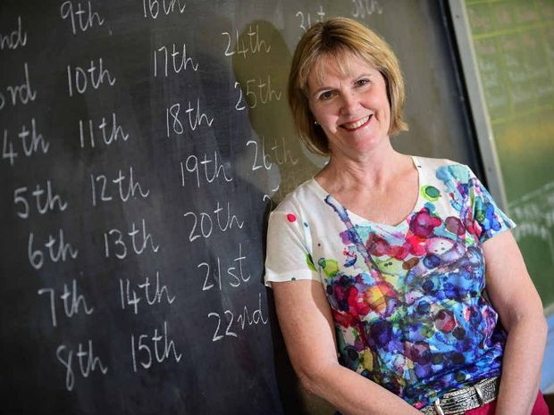 SUPPORT CALL: Primary school teacher Robyn Sugden wants more support for teachers to keep young graduates in the profession.