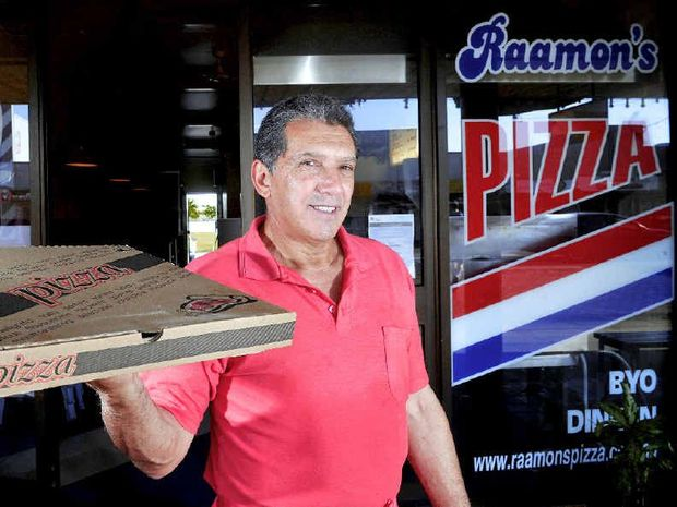 KEEPING IT REAL: Raamon's Pizza owner Patrick Vaccaro loves to provide good conversation and great pizza.