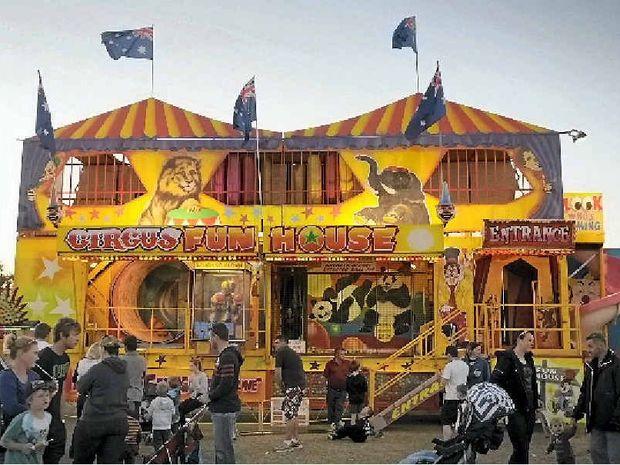 The Circus Fun House.
