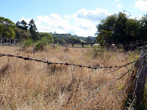 FULL OF POTENTIAL: Land in North Lismore can't be built on, but can be used in other ways.