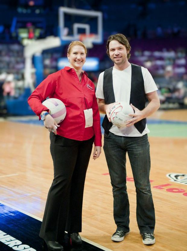 Sonya Ottaway and Michael Johns at Madison Square Garden